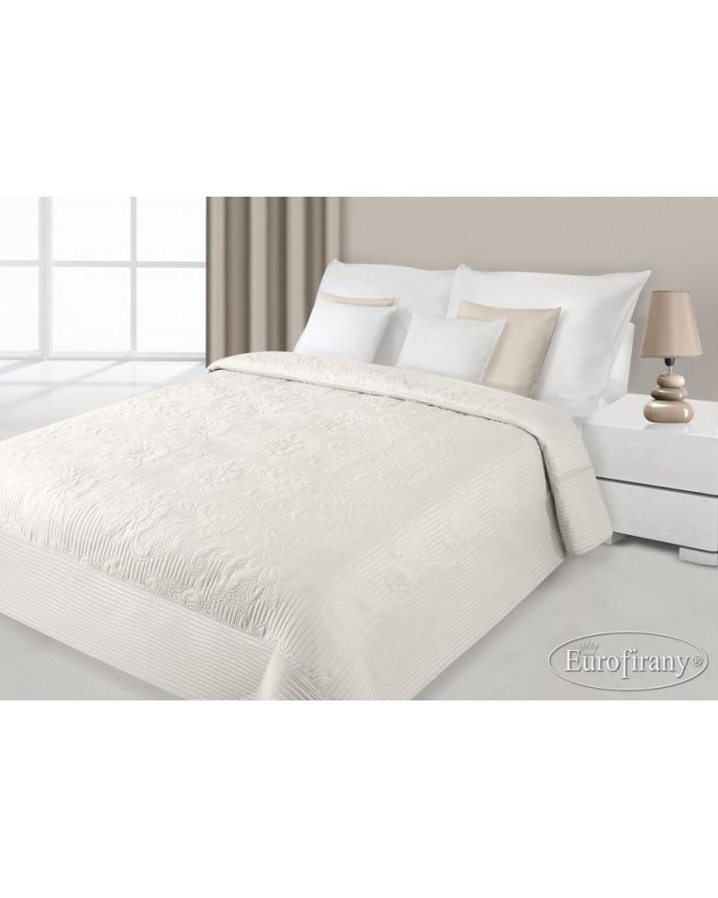 Narzuta na łóżko 170x210 LAURA Eurofirany Krem Narzuta na łóżko LAURA Eurofirany 170x210