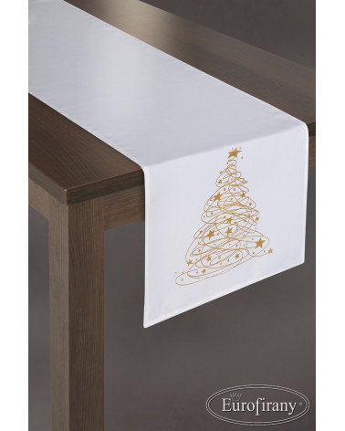 Bieżnik obrus świąteczny 40x180 CAROL Eurofirany BIEŻNIK OBRUS ŚWIĄTECZNY CAROL EUROFIRANY