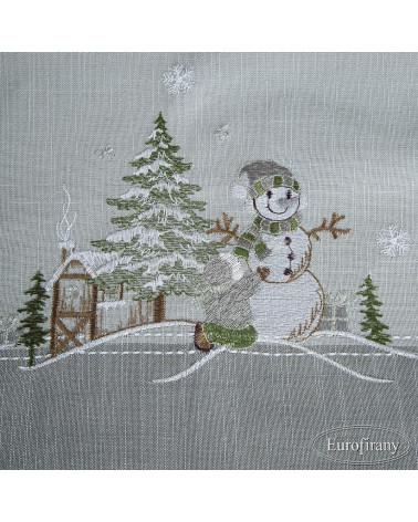 Obrus świąteczny 85x85 EDITH 1 Eurofirany Bieżnik świąteczny