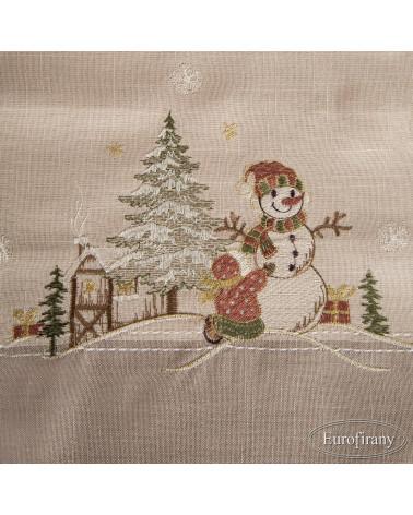 Obrus świąteczny 85x85 EDITH 2 Eurofirany Obrus świąteczny