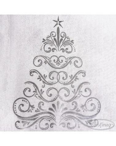 Bieżnik obrus świąteczny 40x180 EULALIA1 Eurofirany Bieżnik świąteczny