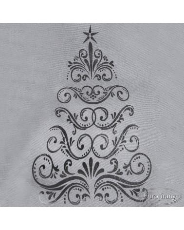 Bieżnik obrus świąteczny 40x180 EULALIA2 Eurofirany Bieżnik świąteczny