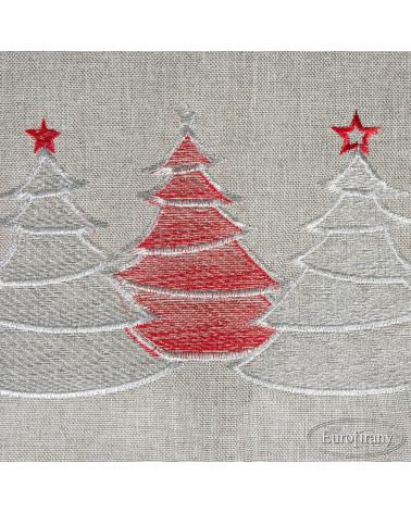 Obrus świąteczny 85x85 LIAM 2 Eurofirany Obrus świąteczny