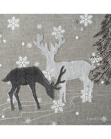 Obrus świąteczny 85x85 LIDIA 1 Eurofirany  Obrus świąteczny