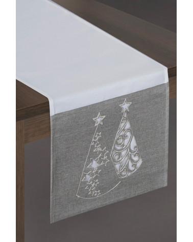 Bieżnik obrus świąteczny 33x175 MIREN 1 Eurofirany  Obrus świąteczny