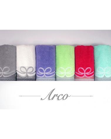 Ręcznik frotte ARCO Greno Śliwka 100% Bawełna dwa rozmiary  Ręcznik ARCO GRENO Śliwka 100% Bawełna