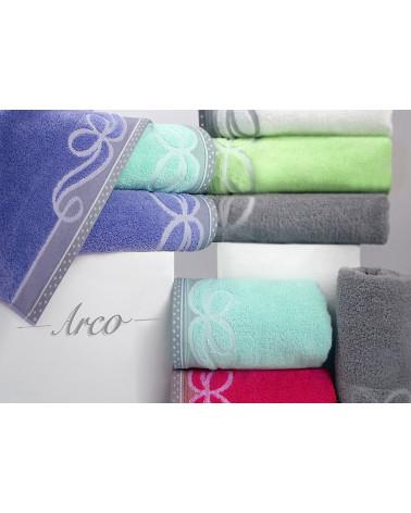 Ręcznik frotte ARCO Greno C.Zieleń 100% Bawełna dwa rozmiary  Ręcznik ARCO GRENO C.Zieleń 100% Bawełna