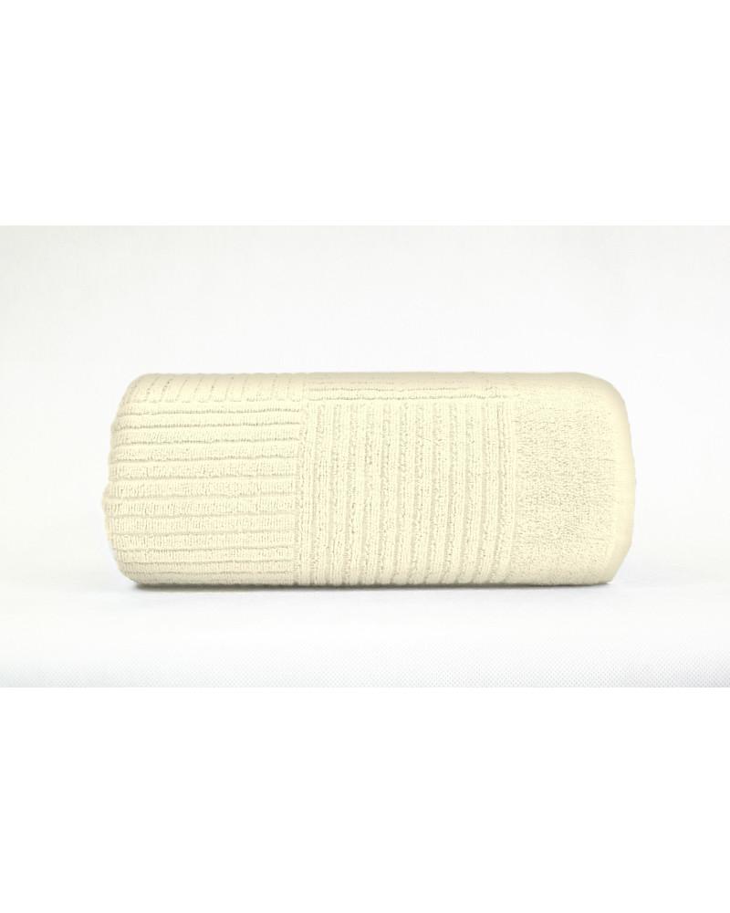 """Ręcznik frotte """"FROTEX"""" ENIGMA GRENO Krem trzy rozmiary Ręcznik """"FROTEX"""" ENIGMA GRENO Krem"""