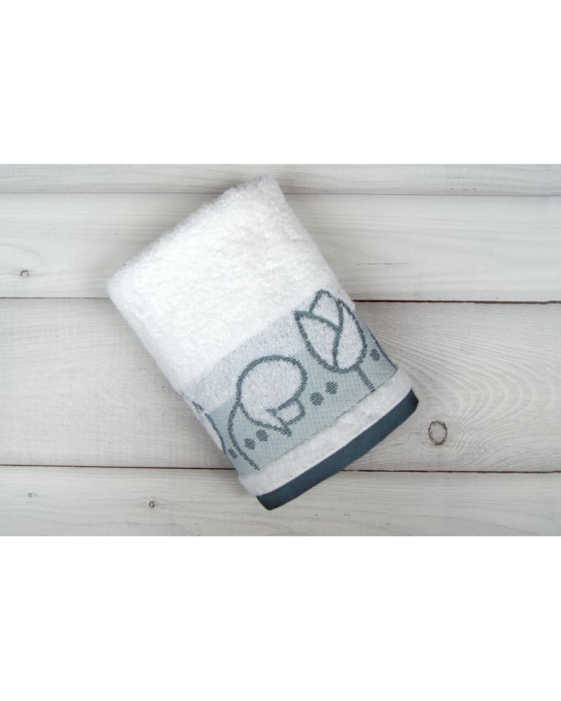 Ręcznik frotte TULIPANO Greno Frotex Biały dwa rozmiary Ręcznik FROTEX TULIPANO GRENO BIAŁY