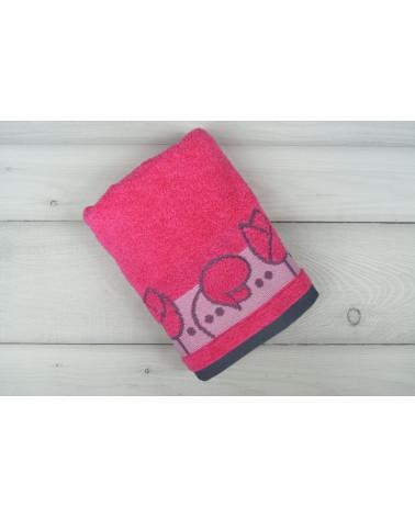 Ręcznik frotte TULIPANO Greno Frotex Fuksja dwa rozmiary  Ręcznik FROTEX TULIPANO GRENO