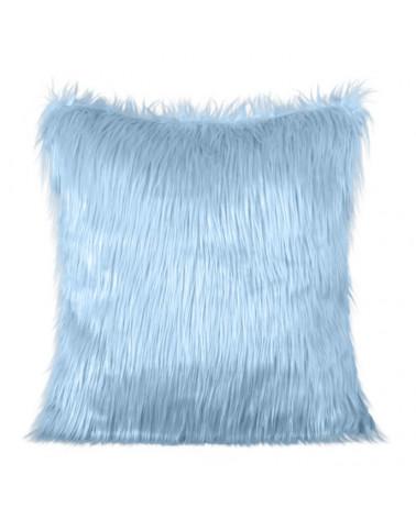 Poszewka dekoracyjna włochacz 45x45 Eurofirany J.Niebieski  Poszewka dekoracyjna włochacz 45x45 Eurofirany J.Niebieski
