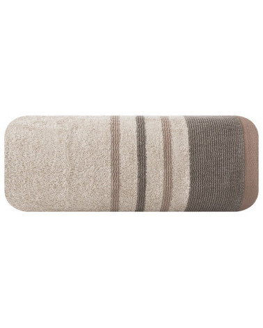 Ręcznik frotte 50x90 KERI Eurofirany Beżowy Ręcznik  KERI frotte 500g/m2 Eurofirany