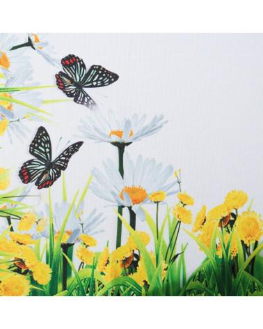 Bieżnik Obrus 40x140 Egidia 8 Eurofirany  Bieżnik Obrus w kwiaty Egidia Eurofirany