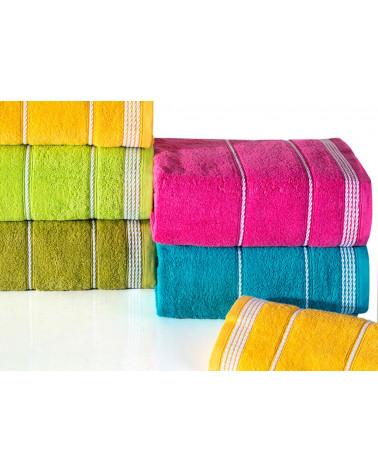 Ręcznik frotte MIRA Eurofirany biały trzy rozmiary  RĘCZNIK MIRA biały EUROFIRANY 500gsm