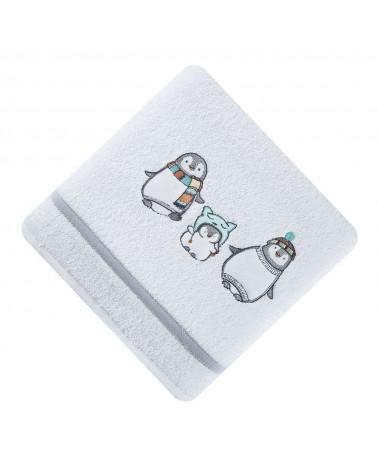 RĘCZNIK dla dzieci pingwin BABY 12 EUROFIRANY 450gsm
