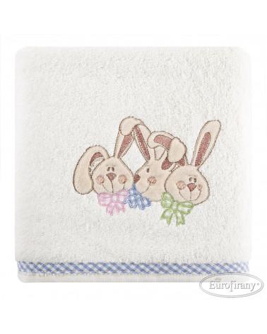RĘCZNIK dla dzieci królik BABY 7 EUROFIRANY 450gsm