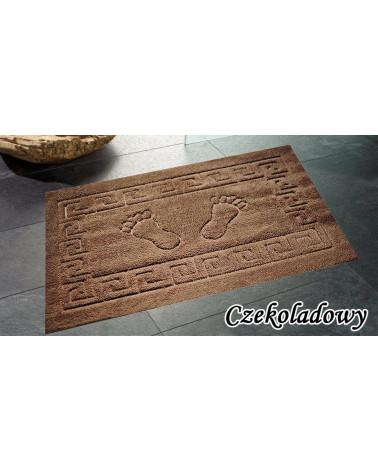 Dywanik łazienkowy 50x70 antypoślizgowy czekoladowy