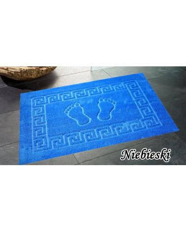 Dywanik łazienkowy 50x70 antypoślizgowy niebieski